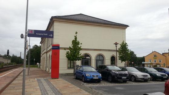 Bahnhof in Bischofswerda