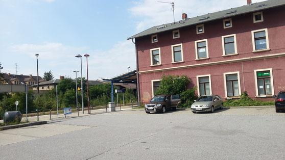Bahnhof in Kamenz