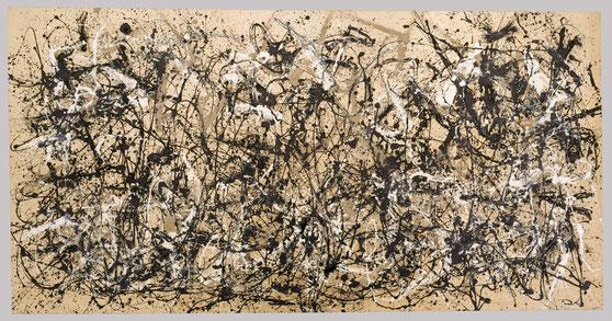 "Jackson Pollock, ""Autumn Rhythm (Number 30)"""