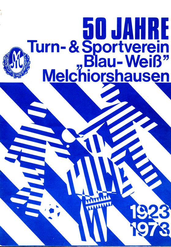 Cover der Jubiläumsschrift anlässlich des 50jährigen Bestehens