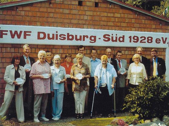 Sommer 2003, 75 Jahre FWF Duisburg-Süd