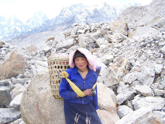 Sherpa meisje Nepal