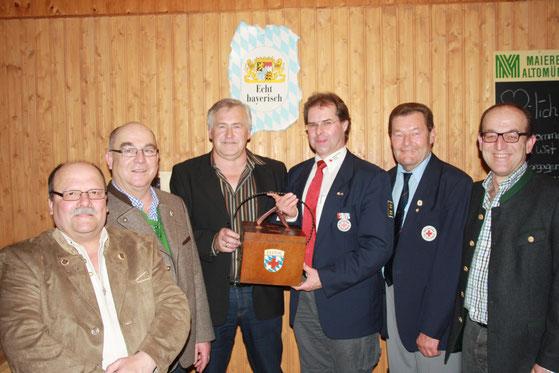 Anton Loibl, Martin Steiner, Otmar Parsche, Alexander Westermeier, Albert Drittenpreis, Helmut Steiner