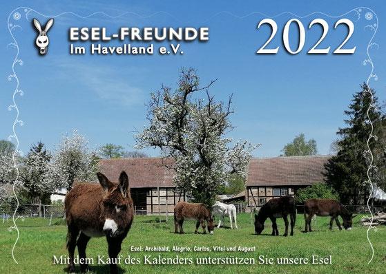 Esel-Workshop   Eselfreunde - Eselkalender 2020
