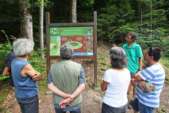 Sentier d'interprétation du Campérié - Rando Pyrénées Audoises