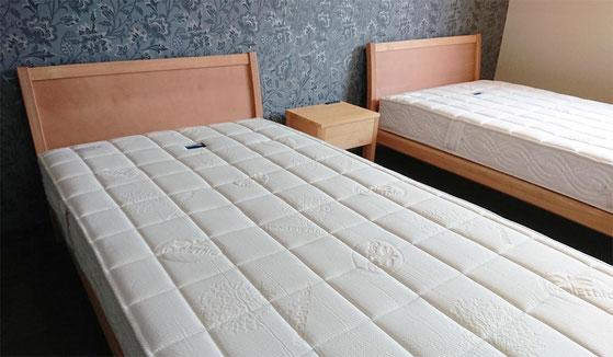 マニフレックス「フラッグFX」と国産ひのきベッド「ベガ」/ マニステージ福岡