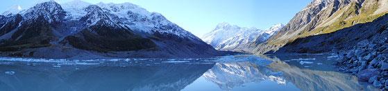 Lake Hooker - Mount Cook