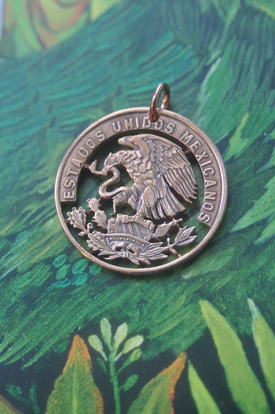Münzsägewerk Katrin Thull | Mexiko - Adler auf Kaktus