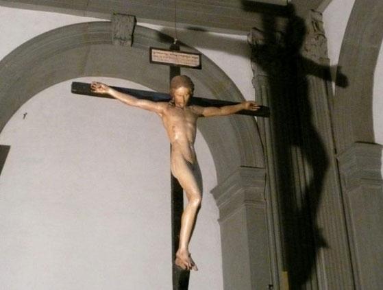 Самые известные работы Микеланджело - Распятие церкви Санто Спирито