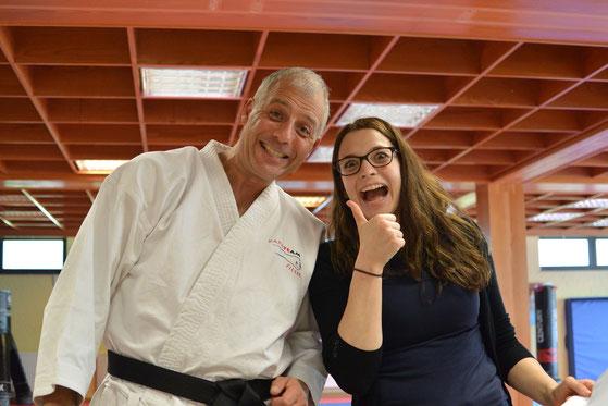 Herbst 2019 in der Grundausbildung zur/zum Karatelehrer-Assistenten/tin