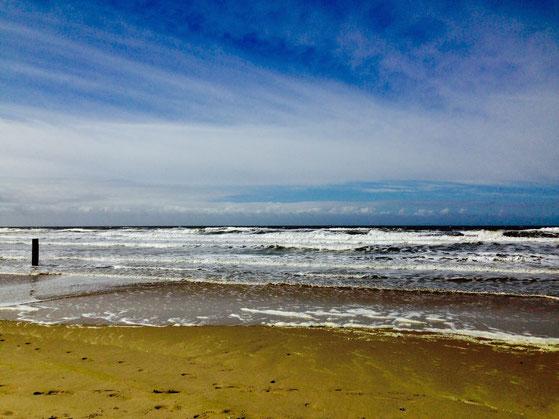 Bild vom Strand, in 7 Minuten erreichbar. Der Strand ist 40 Kilometer lang.