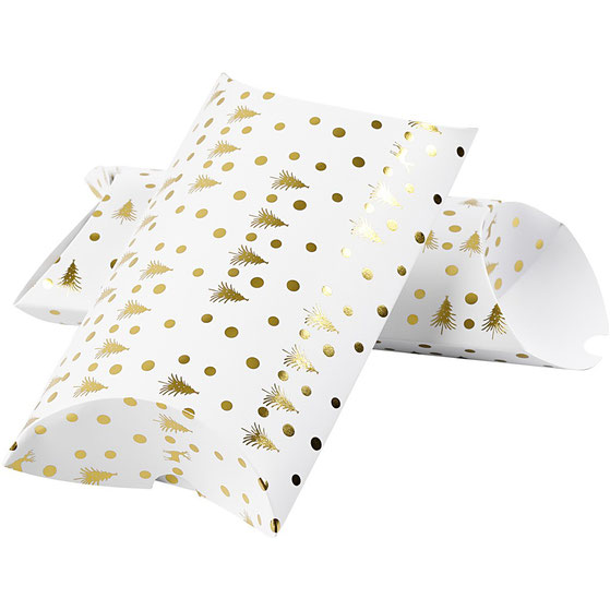 Pillow Box weiß Weihnachten