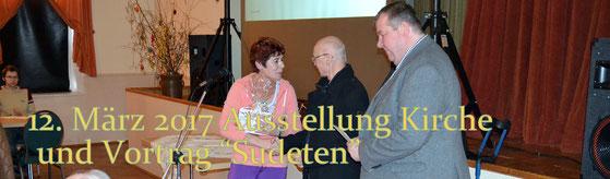 Bild: Seeligstadt Heimatverein Sonderausstellung Kirche 2017