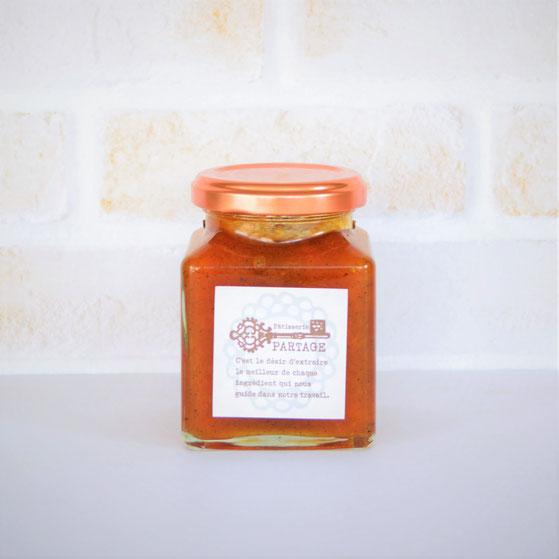 ぎゅぎゅっと果実のコンフィチュール confiture abricot tatin コンフィチュール アプリコ・タタン 【杏・キャラメル】