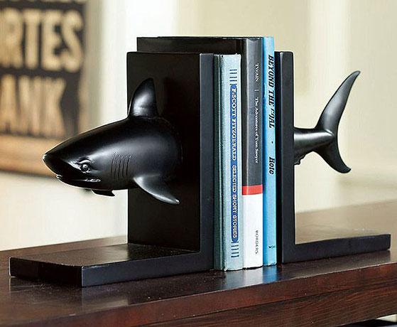 держатель для книг Акула