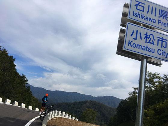 国道416,ロード,自転車,大日峠,小松,福井,勝山