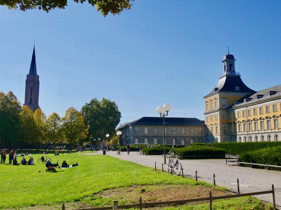 Bonn Sehenswürdigkeiten Universität Schloss Kurfürst Clemens August