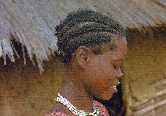 Schulkind in Sambia