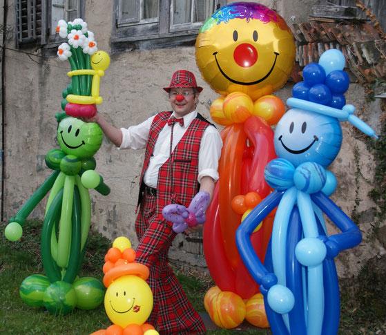 Mr. Balloni.ch, Dekoration, Raumdeko, Ballonmann, Kinder, Fantasie, Phantasie,Ballonclowns,Helium,Fasnacht