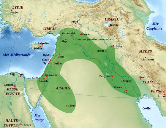 Nabopolassar combat les descendants d'Assurbanipal et s'empare du pouvoir à Babylone. En 625 av J-C, il livre une grande bataille près de Nippur, se fait proclamer roi et fonde la dynastie chaldéenne. En 616, il s'allie avec le roi de Médie, Cyaxare.