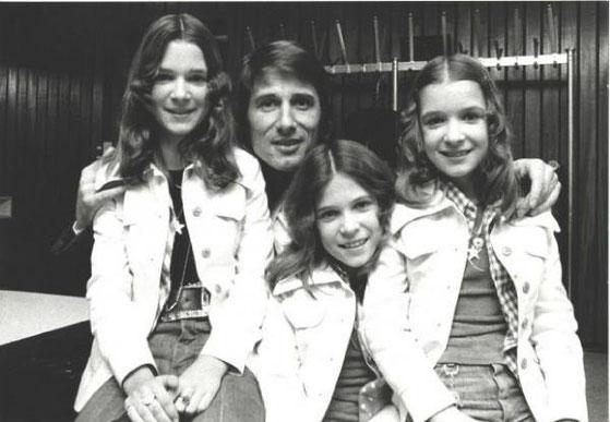 Mit Udo Jürgens 1975