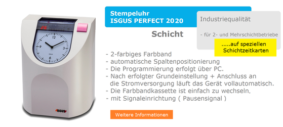 ISGUS PERFECT 2020  Schicht  -  www.hoelling.info