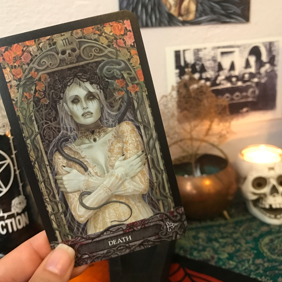 Death from Tarot of Vampyres