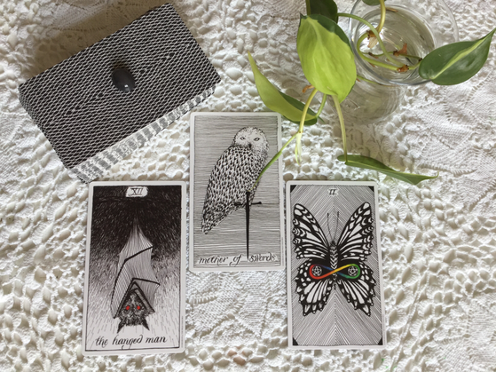 The reveal of The Wild Unknown Tarot by Kim Krans