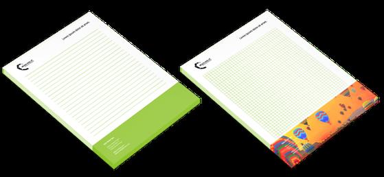 Schreibblock online drucken  - Ihre murtaler online Druckerei druck-was.at für Murau, Scheifling, Oberwölz, Murtal, Judenburg, Zeltweg, Spielberg, Knittelfeld, Leoben, Bruck an der Mur, Eisenerz, Trofaiach