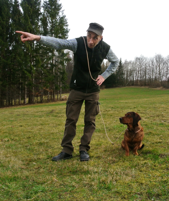 Hundeführer, Hundeleine, Jagdhund, best4jagd, tobias schneider