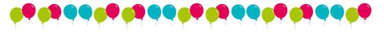 teenager geburtstag erlebnisgeschenk Luftballons