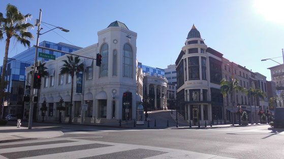 Bild: Rodeo Drive, Beverly Hills, Los Angeles