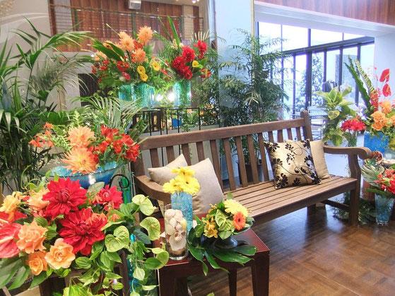 結婚式 花ひろ テーマウエディング 南国 福井 鯖江 花屋 ブライダル