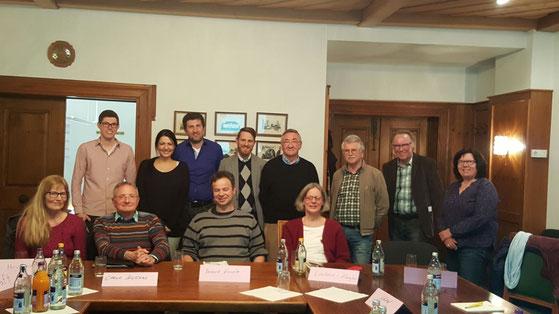 MoDavo-SIG Bürgerinitiative der Pilotregion Herdwangen-Schönach nach dem dritten gemeinsamen Treffen im Rathaus