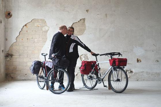fern-Fahrraeder & gramm-Tourpacking