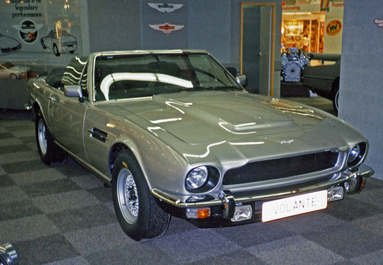"IAA 1985 - mein erster Aston Martin ""live"": V8 Volante - das ""Show Car"""