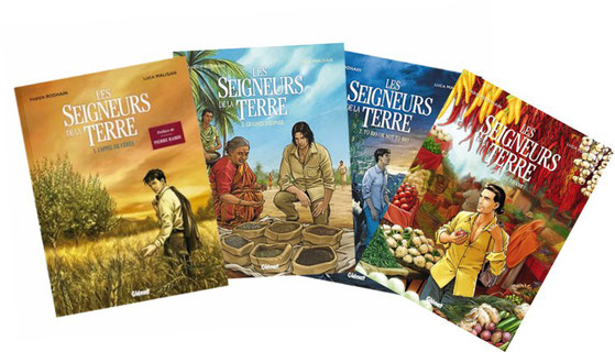 auteur, bd, théâtre, deffenseur de la terre, Pierre Rabhi, Vandana Shiva