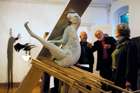 Ausstellung im Kunstraum Tosterglope, Foto: Jonas Keller