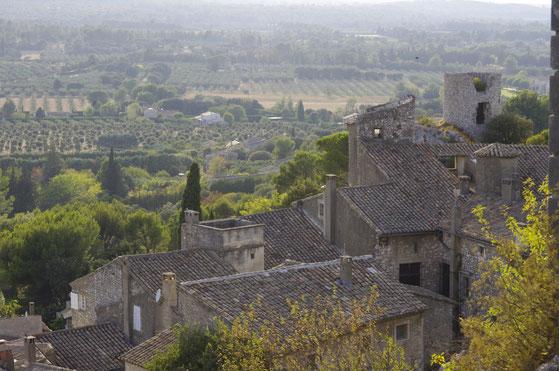 Aussicht von Eygalières, 40 minuten von le clos des Sorgues entfernt