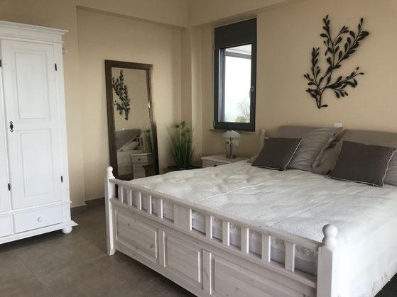 Große bequeme Betten garantieren einen erholsamen Schlaf