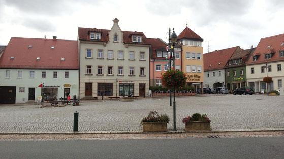 Markt in Wilsdruff
