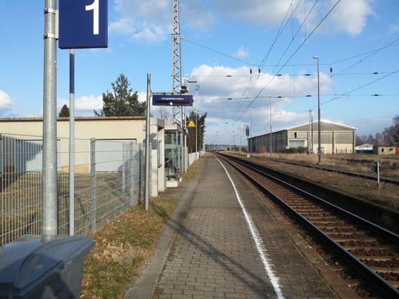Bahnhof in Lampertswalde