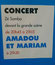 Concert Zé Samba - Amadou et Mariam