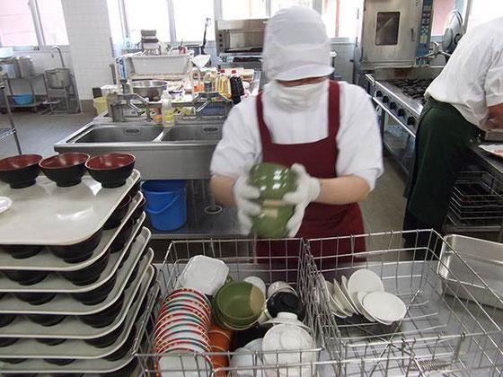 福祉施設での厨房実習