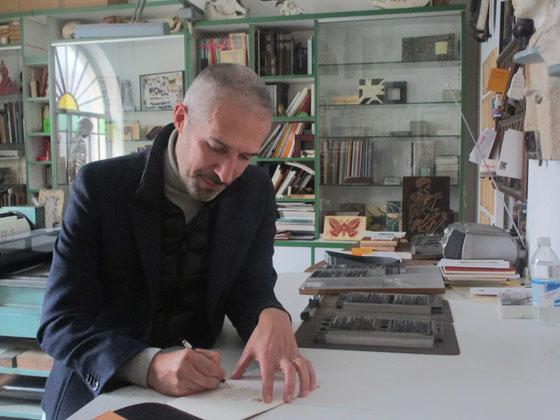 """Massimo Morasso firma il libretto """"Saturnia pyri"""""""