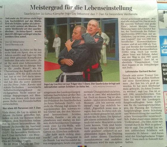 Saarbrücker Zeitung vom 28.12.2016