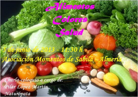 alimentos colores salud