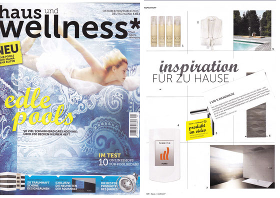 HAUS & WELLNESS / SEP. 2013 | Aromatherapy Shower Gels