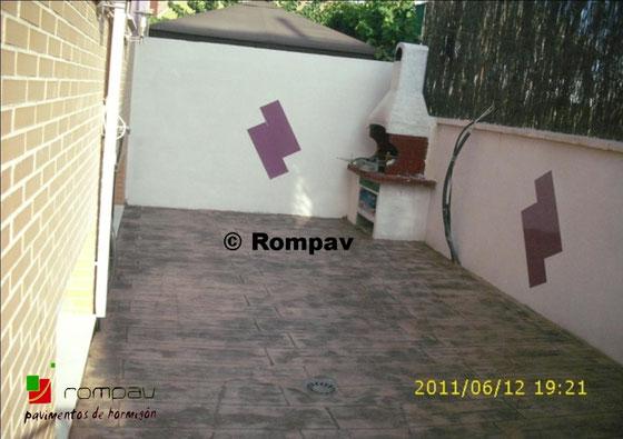 Impreso vertical rompav espa a suelos hormig n impreso - Hormigon impreso en madrid ...