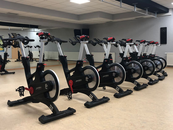 Unsere IC7 Spinningbikes für Indoor Cycling